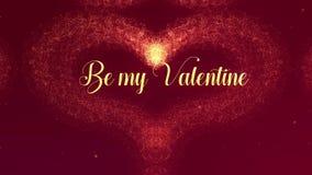 Sia la mia confessione di amore di Valentite Il cuore di San Valentino fatto della spruzzata del vino rosso sta comparendo r illustrazione di stock