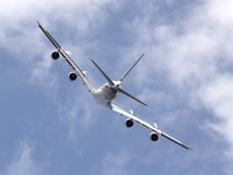SIA Luchtbus A380 Stock Afbeelding