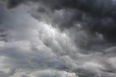 Sia nuvoloso Immagine Stock Libera da Diritti