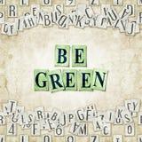 Sia verde illustrazione di stock