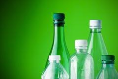 Sia verde, ricicli Fotografia Stock Libera da Diritti