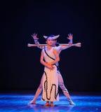 Sia vigilante-commissione nel ballo-coreografo labirinto-moderno Martha Graham immagini stock