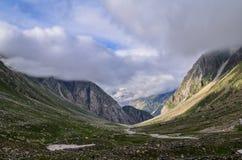 Siagoru Valley. A view of Siagoru valley, Spiti, Himachal pradesh, India Stock Photography
