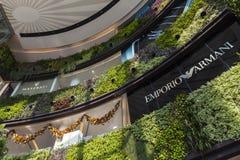 Siam centrum zakupy centrum handlowe w Bangkok Obraz Royalty Free