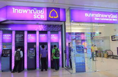 Siam Commercial Bank Tajlandia Fotografia Stock