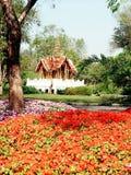 Siam Hall, Rama IX Park, Bangkok stock foto's