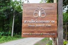 Siam Insect Zoo Fotografía de archivo