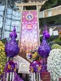 Siam paragon bangkok orchid paradise Stock Photo