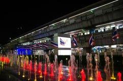 Siam Paragon Siam Paragon jest wielkim centrum handlowym w Siam władzy grupie Wielki 3 kraju, Tajlandia Obrazy Royalty Free