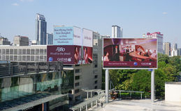 Siam Paragon mall in the Siam Square area in Bangkok Royalty Free Stock Photo