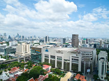Siam Paragon is one of Bangkok's main shopping Stock Image