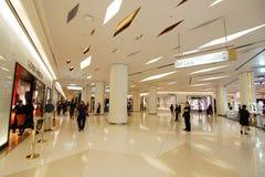 Siam Paragon Shopping Center Bangkok Fotografering för Bildbyråer