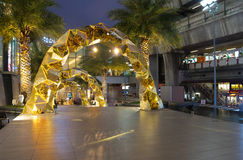 Siam Paragon shopping center Stock Images