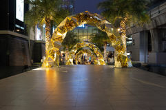 Siam Paragon shopping center Royalty Free Stock Images