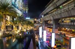 Siam Paragon shopping center Stock Image