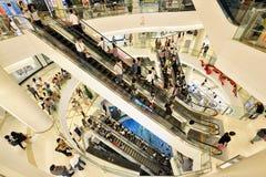 Siam Paragon Shopping Mall, Bangkok Fotos de archivo