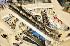 Siam Paragon Shopping Mall, Bangkok Stock Photos