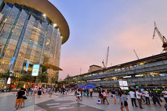 Siam Paragon Shopping Mall, Bangkok Royalty Free Stock Images