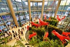 Siam Paragon Shopping Mall, Bangkok Royalty Free Stock Photos