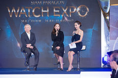 Siam Paragon Watch Expo 2017, press conference at event hall, Si Stock Photos