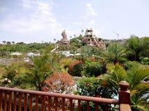 Siam Park Tenerife, Spanien Royaltyfria Foton