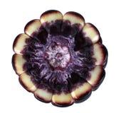 Siam Rubinowa królowa jest super słodkim kukurudzą z czerwonym kolorem, może być jedząca świeża, odosobniony na białym tle z ścin zdjęcie royalty free
