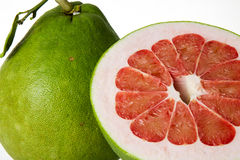 Siam Ruby Pomelo Fruit Stockfoto