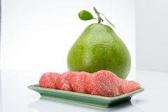 Siam Ruby Pomelo Fruit Royaltyfria Foton