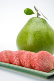 Siam Ruby Pomelo Fruit photo stock