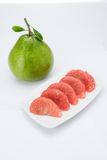 Siam Ruby Pomelo Fruit Royaltyfria Bilder