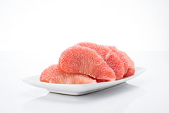 Siam Ruby Pomelo Fruit images stock