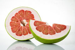 Siam Ruby Pomelo Fruit Lizenzfreie Stockfotos
