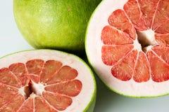 Siam Ruby Pomelo Fruit Lizenzfreies Stockbild