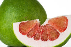 Siam Ruby Pomelo Fruit Stockfotografie
