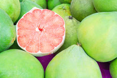 Siam ruby pomelo fruit, The Ruby of Siam Royalty Free Stock Image