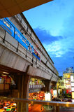 Siam skytrain Royalty Free Stock Photo