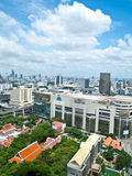 Siam Square one of Bangkok's main shopping areas Royalty Free Stock Image