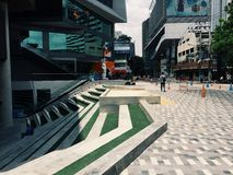 Siam vierkante  Stock Fotografie