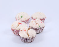 Siamese cupcake Royalty Free Stock Images
