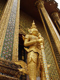 Siamese standbeeld Royalty-vrije Stock Afbeelding