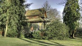 Siamese temple - Thai Sala. Kurpark, Bad Homburg, Germany Royalty Free Stock Photography