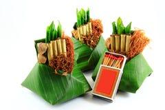 Siamesische alte Zigarette Lizenzfreie Stockbilder