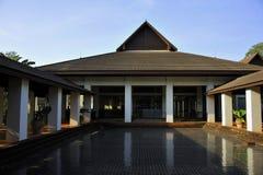 Siamesische Architektur Lizenzfreies Stockfoto