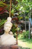 Siamesische buddhistische Statue Stockbild