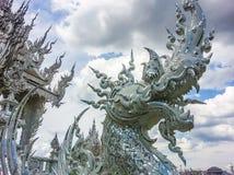 Siamesische fromme Skulptur Lizenzfreies Stockfoto