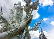 Siamesische fromme Skulptur Lizenzfreie Stockfotografie