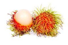 Siamesische Frucht des Rambutan Lizenzfreie Stockfotos