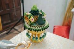Siamesische Hochzeit Gemüse, Rezept Stockfotos