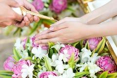 Siamesische Hochzeits-Zeremonie Lizenzfreies Stockbild