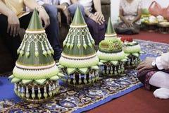 Siamesische Hochzeits-Zeremonie lizenzfreie stockfotografie
